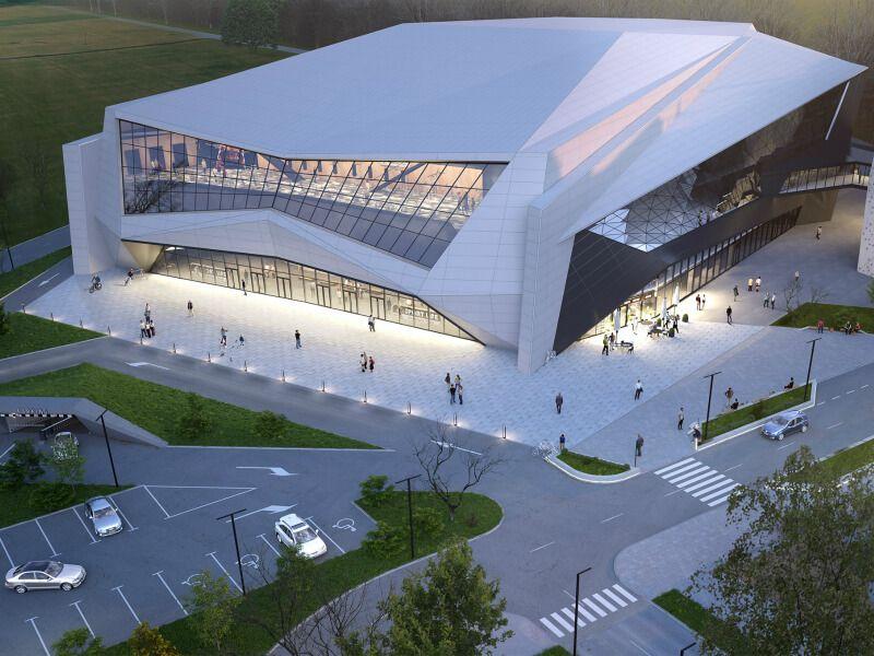 Проектирование спортивных объектов